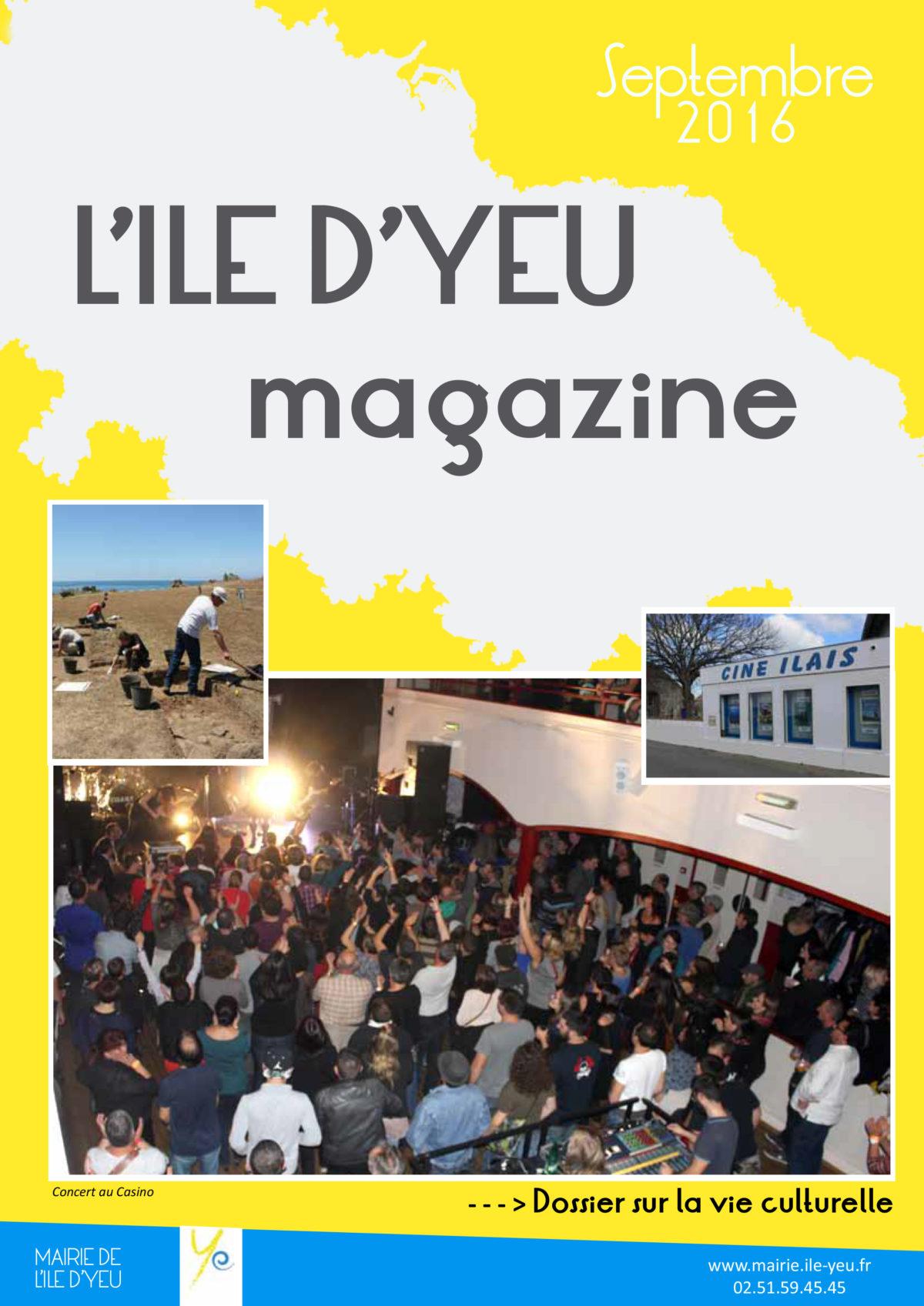 bulletin sept-1-2016 - L'Ile d'Yeu - mairie
